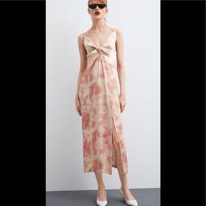 Zara Tie Dye Maxi Dress